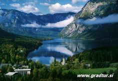 I swam across here and it was amazing, little doctor fish exfoliate you!  Would love to go again - Lake Bohinj, Slovenia