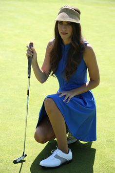 Expert Golf Tips For Beginners Of The Game. Golf is enjoyed by many worldwide, and it is not a sport that is limited to one particular age group. Not many things can beat being out on a golf course o Golf Attire, Golf Outfit, Girls Golf, Ladies Golf, Sexy Golf, Perfect Golf, Golf Wear, Golf Fashion, Ladies Fashion