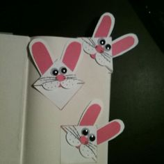 bookmarks for easter made for son's class