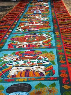 Take Max back to visit his country during Holy Week. Antigua Guatemala Holy Week Alfombras- Kid World Citizen