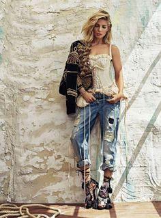 Elsa Pataky for Elle Spain by Xavi Gordo