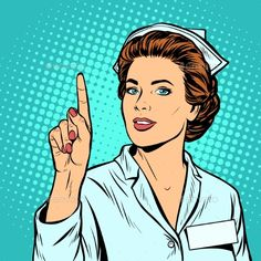 Find Woman Nurse Attention Gesture Pop Art stock images in HD and millions of other royalty-free stock photos, illustrations and vectors in the Shutterstock collection. Pop Art Vector, Retro Vector, Art Pop, Pop Art Dibujos, The Art Of Manipulation, Images Pop Art, Nurse Pics, Desenho Pop Art, Vintage Nurse