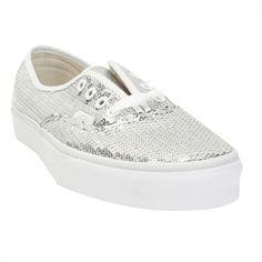94c1283928d Vans Glitter Dots Authentic Sneaker  VonMaur  Vans  Silver  Sequins Sparkly  Vans