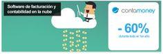 Software de facturación y contabilidad en la nube con Contamoney - 60% de descuento en todos los servicios durante el primer año