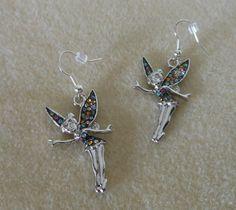 Storybook Fairy Earrings/Fairy earrings by CreationsbyMaryEllen