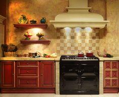 Cozinha Rústico por Gamahogar - homify / Gamahogar