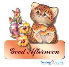 Orkut Good Afternoon Scraps and Graphics
