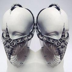 "House Of Malakai custom ""Scorpion"" mask  #houseofmalakai #hom #couture"
