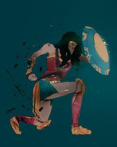 Art Blog #Wonderwoman
