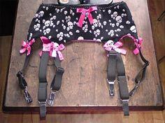 How To Make A Garter Belt