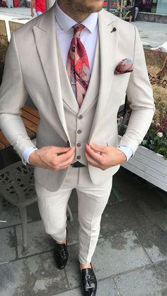 Suit Fashion, Mens Fashion, Wedding Suits, Miami Wedding, Men Hair Color, Summer Suits, Designer Clothes For Men, Groom Dress, Mens Suits