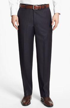 #Santorelli               #Bottoms                  #Santorelli #'Luxury #Serge' #Flat #Front #Trousers #Navy                     Santorelli 'Luxury Serge' Flat Front Trousers Navy 40                                                   http://www.seapai.com/product.aspx?PID=5389068