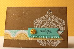 cards by carli: Beautifully Baroque, Stampin' Up!