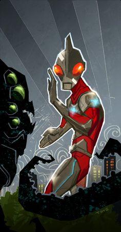 Ultraman by Derek Toye