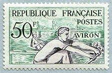 Aviron Jeux Olympiques d´Helsinki 1952 - Timbre de 1953