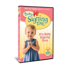 Signing time was a lifesaver when Grace was a baby. She started signing at 9 months. The whole family learned watching these videos. 