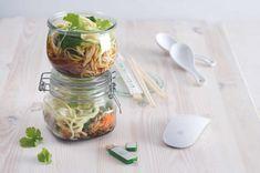 Asijská polévka Tahini, Feta, Jar, Drink, Beverage, Jars, Glass, Drinking