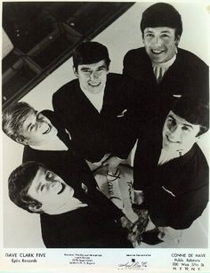 The Dave Clark 5. My absolute favorite of the 1960s era British bands, slightly edging out the Beatles - most of the time, anyway. LOL!
