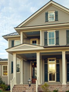 Contemporary Home Design with Comfort Home Interior : Traditional Entry With Woodframe Glass Door Caulder Park Home