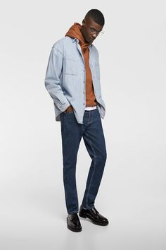 81eca8a4c7 Image 1 of SLIM FIT JEANS from Zara Jeans Fit