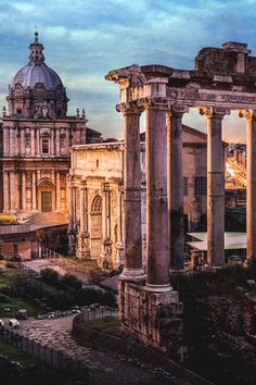 "italian-luxury: ""Roman Ruins | Source | Italian-Luxury | Instagram Foundations of an empire. """