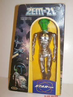IDEAL(1977)STAR TEAM(ZEM-21)MIB!!!RARE 100%COMP!!!KNIGHT OF DARKNESS!!!