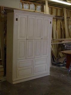 atlas chunky oak hidden home. Baumhaus Atlas Chunky Oak Hidden Home Office Hideaway P