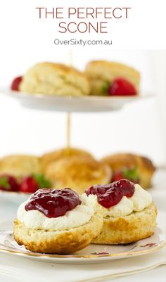 The Perfect Scone - we don't want to brag, but this scone recipe is the bee's knees. Great for your next afternoon tea treat.