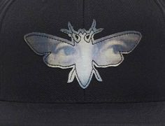 Abduction Snapback Cap by BLACK SCALE The Mothman Prophecies, Snapback Cap, Wool Blend, Applique, Scale, Fall Winter, Brooch, Animals, Black
