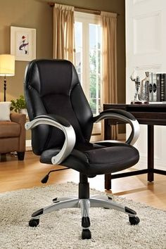 Resonate Black High Back Ergonomic Task Office Chair