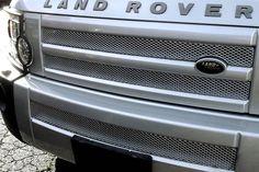 Grillcraft ROV2023S Land Rover LR3 MX Grille Silver Upper & Lower Insert Kit #Grillcraft #ChromeTrim