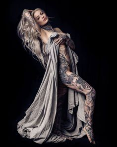 Here's a shot of the tattoo I did that won Tattoo of the Day at this year's Philadelphia tattoo convention! I loved this one,… Hot Tattoos, Great Tattoos, Girl Tattoos, Tattoos For Women, Tattoed Women, Tattoed Girls, Inked Girls, Ryan Ashley Malarkey, She Is Gorgeous