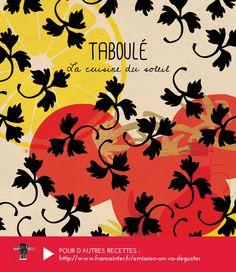 """TABOULÉ : pas de Mézzé sans Taboulé ! Une recette de Tamal Mousawak présentée dans """"On va déguster"""" - RECETTE ICI : http://www.franceinter.fr/emission-on-va-deguster-lart-des-mezzes-0"""