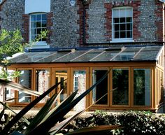 A Lean To conservatory can be designed to complement modern or period properties