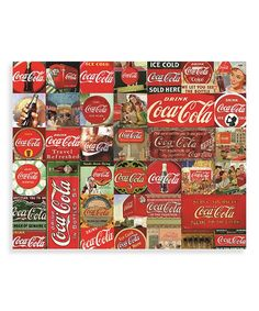 Coca-Cola It's The Real Thing 1000-Piece Jigsaw Puzzle