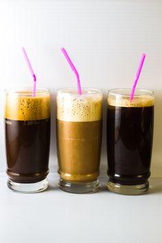 Greek Coffee 3 Ways: Frappe, Freddo Cappuccino and Freddo Espresso | The Greek Glutton