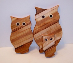 owl cutting boards...yes.