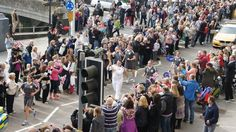 The Torch Bearer for Bideford 21 May 2012