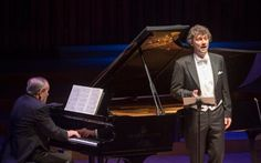 Helmut Deutsch and Jonas Kaufmann at the Barbican, London