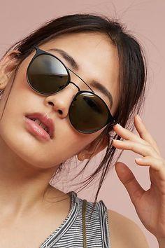 Anthropologie Laila Matte Sunglasses