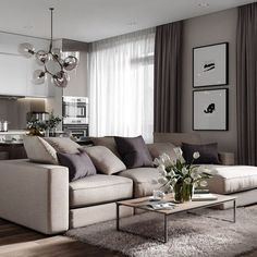 Gefällt mir, 67 Kommentare – Alexey Volkov ( zu In likes 67 Comments Alexey Volkov ( to In room# # Living room cabinet living room furniture # carpet Home Living Room, Apartment Living, Living Room Designs, Living Room Decor, Living Spaces, Muebles Living, Sofa Design, Cheap Home Decor, Home Interior Design