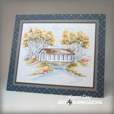 Art Impressions Blog: NEW Watercolor Release! PLUS Challenge 192 Watercolor…