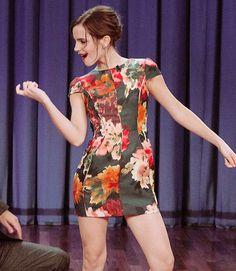 Emma Watson en The Tonight Show With Jimmy Fallon