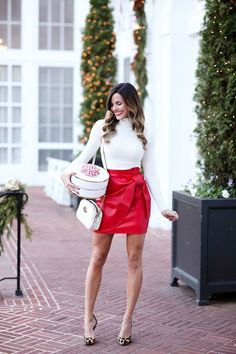 7478400926 40 Beautiful Hot Red Outfit Ideas To Steal Hearts Faldas