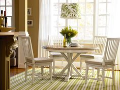 Great Rooms Collection- Garden Breakfast Table with Side Chair