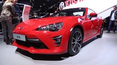 SUBSCRIBE for New Cars:  https://www.youtube.com/c/wmediatv?sub_confirmation=1  2017 Toyota 86 at the 2016 New York International Auto Show with interior and exterior changes as well as suspension and powertrain upgrades. The new Toyota 86 will go on sale at all Toyota dealerships in the US in fall 2016.  For its move to Toyota the 86 sports car adopts more aggressive styling with a larger center intake emphasizing the low wide stance of the car. The front of the car has a new design with…