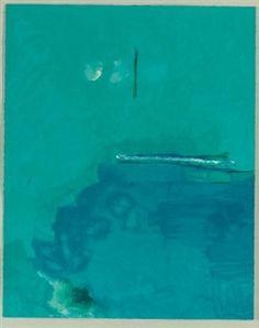 Contentment Island By Helen Frankenthaler ,2004