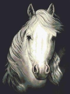 Horse paiting | Free cross stitching patterns