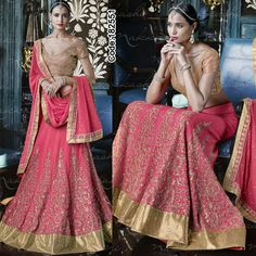 SALE SALE SALE! Off upto 70%! Last 48 hours!  A refreshing approach to the #lehenga designs in #raani #pink for the new age #bride!  #FloralMotif #Volume #Layers #Embroidery #Designer #Occasion #IndianDresses #Partywears #Indian #Women #Bridalwear #Fashion #Fashionista #OnlineShopping #Lehengacholi *Free Shipping Worldwide*