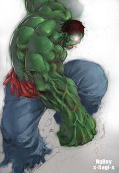 #Hulk #Fan #Art. (Hulk) By: X-SAgi-x. (THE * 5 * STÅR * ÅWARD * OF: * AW YEAH, IT'S MAJOR ÅWESOMENESS!!!™)[THANK Ü 4 PINNING!!!<·><]<©>ÅÅÅ+(OB4E)
